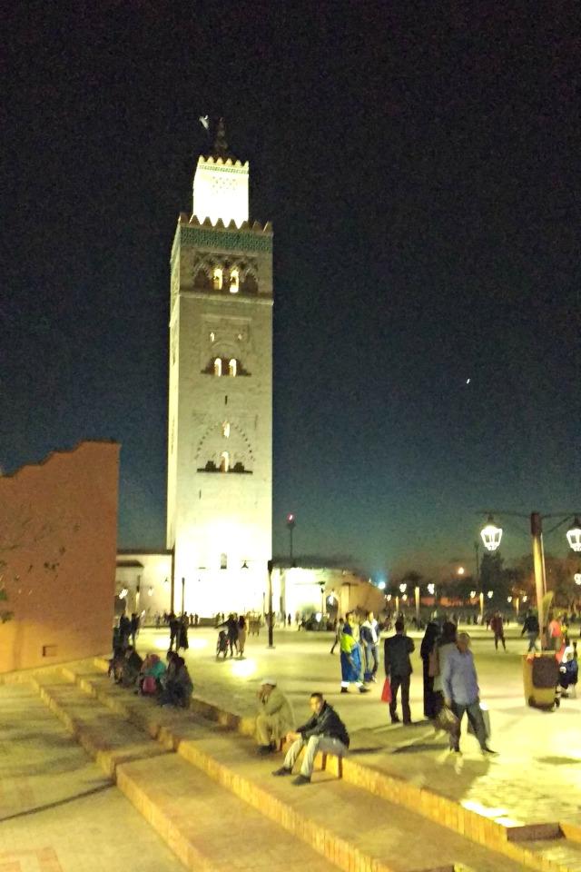 Morocco at night